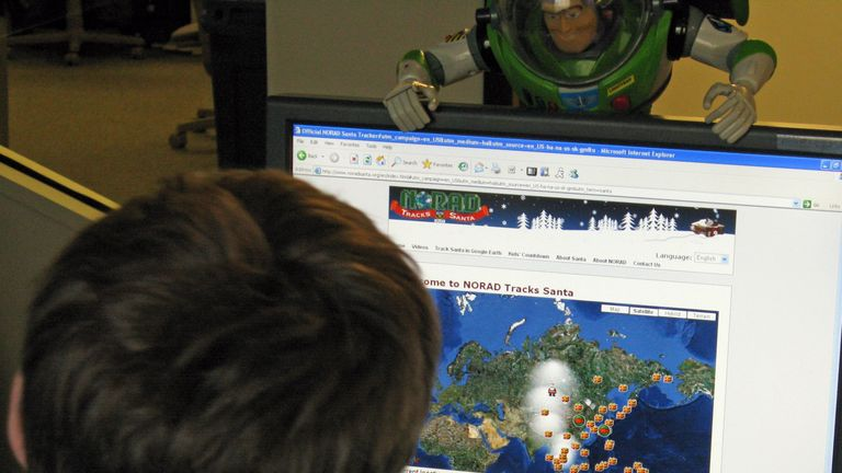 Last year NORAD Tracks Santa received 126,000 calls