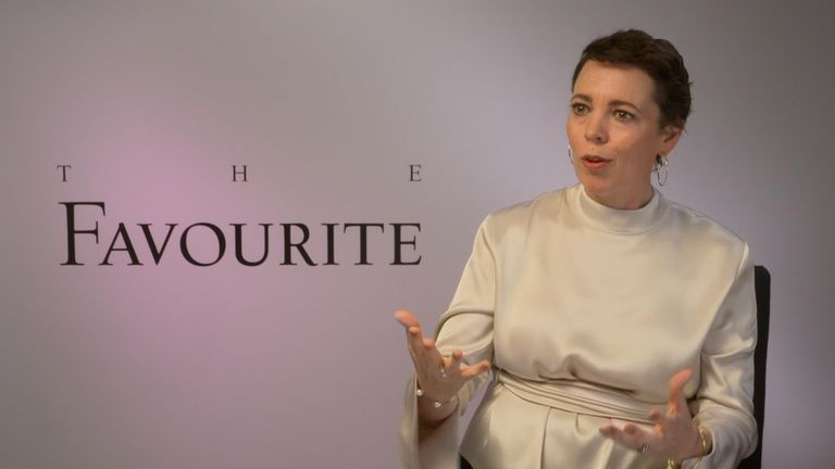 Olivia Colman is tipped to win an Oscar for her role in The Favourite