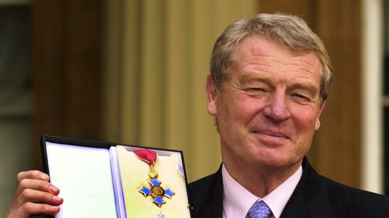 Lord Ashdown was knighted in November 2000