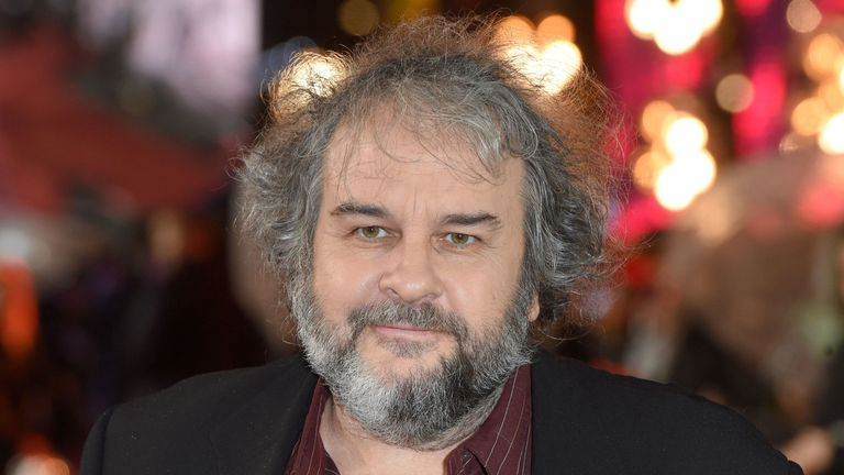 Director Peter Jackson at the world premiere of Mortal Engines in London on November 27, 2018