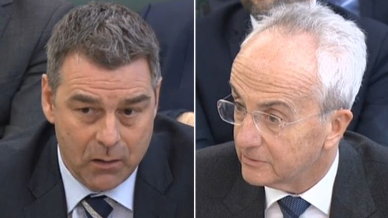 Richard Howson and Philip Green