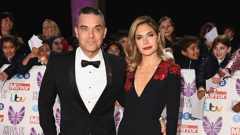 Robbie has been showing off a slimmer figure in the last year