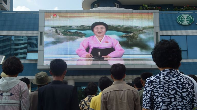 North Koreas Pink Lady Replaced By Younger Presenters As State Tv