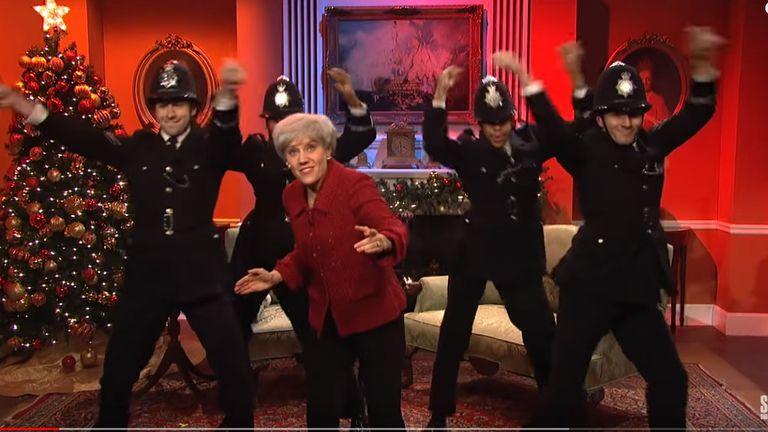 The Saturday Night Live sketch. Pic NBC