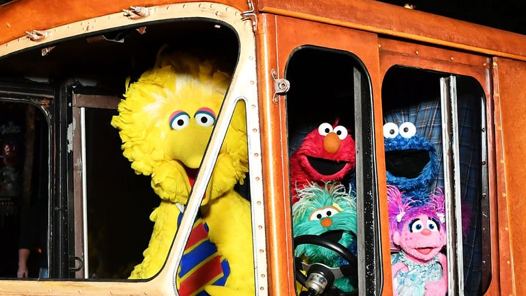 Sesame Street characters will provide support to Syrian children