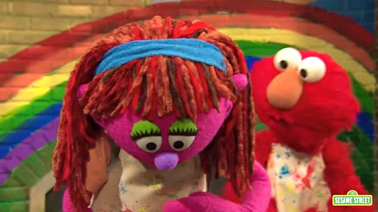 Lily from Sesame Street