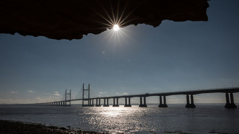 The Prince of Wales Bridge (pictured) and the Severn Crossing will both lose their toll booths