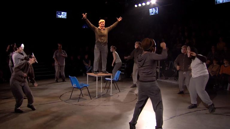 The trilogy includes Julius Caesar, Henry IV and The Tempest