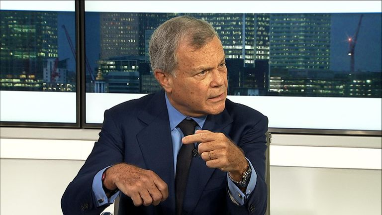 Former head of WPP Sir Martin Sorrell spoke to Ian King about Brexit, new businesses and leaving the company he founded.
