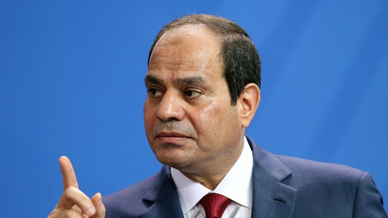 Egyptian President Abdel Fattah el-Sisi has complained about his country's obesity rate