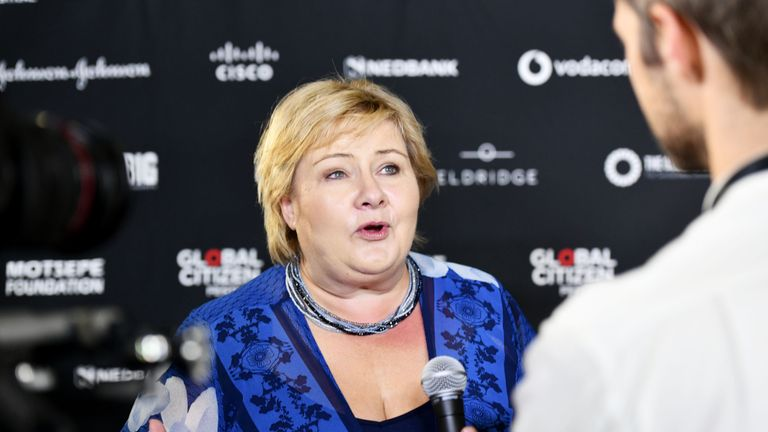 Norwegian PM Erna Solberg previously cast doubt on the idea of Britain entering their model