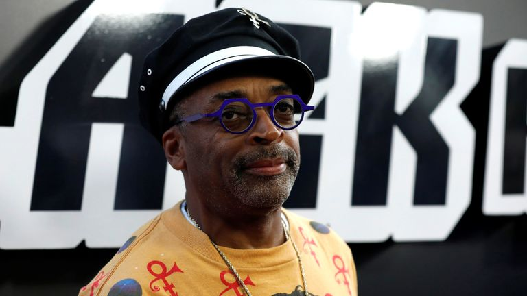 Spike Lee says BlacKkKlansman includes themes that are still relevant today