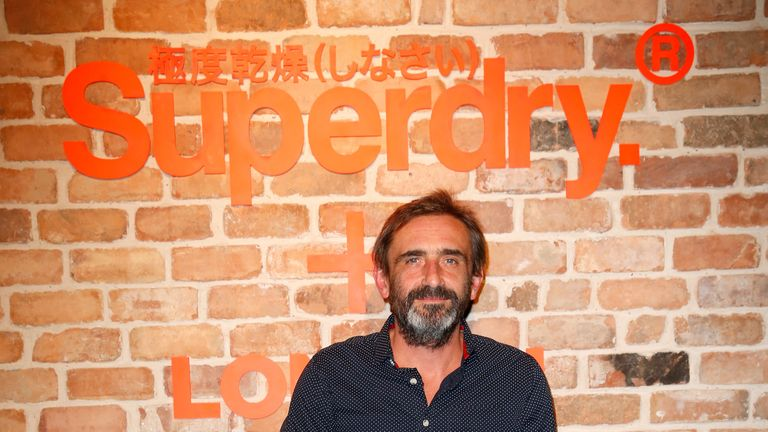 Julian Dunkerton is the founder of Superdry