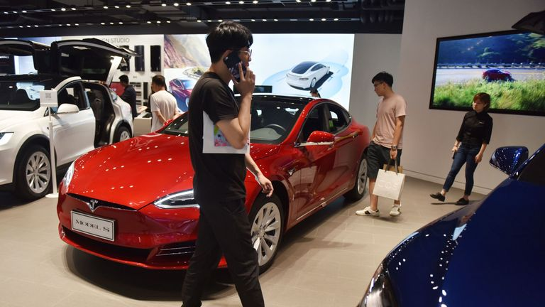 China slapped 40% tariffs on all US-made cars in July