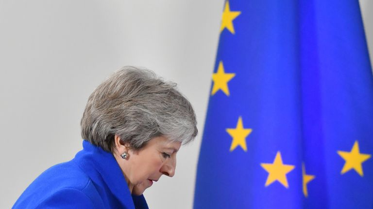 Another big week awaits Theresa May as she bids to get her Brexit deal through parliament