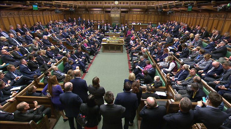 MPs voted to give themselves a say over Theresa May's plan B