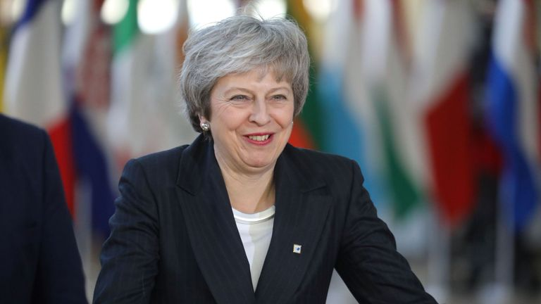 Theresa May's tough week in London was topped off with a ribbing from overseas