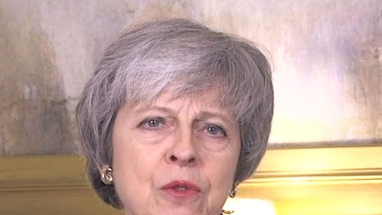 Theresa May's New Year message of hope for Brexit
