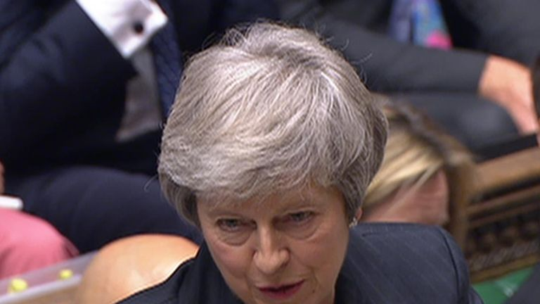 The prime minister denies concealing information about Brexit legal advice from parliament