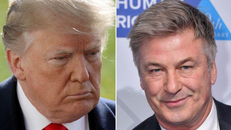 Donald Trump has criticised Saturday Night Live, in which Alec Baldwin sends him up