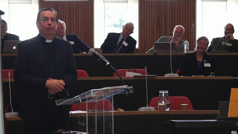 The Rt Reverend Philip Mounstephen will lead the review Pic: Truro Diocesan Synod