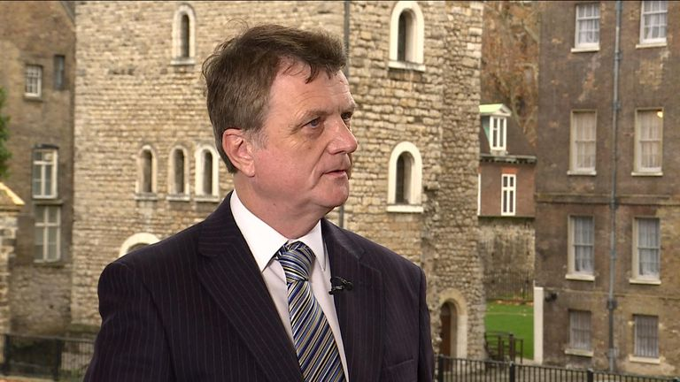 UKIP leader Gerard Batten discusses his party's new association with Tommy Robinson