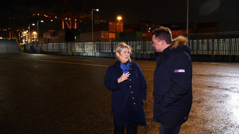 Verona Murphy, from the Irish Road Haulage Association, thinks a hard border needs to be avoided at all costs