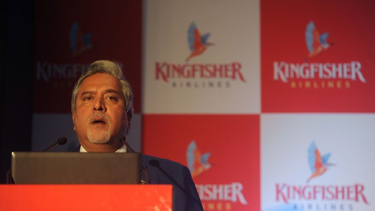 Vijay Mallya's Kingfisher Airlines collapsed in 2013