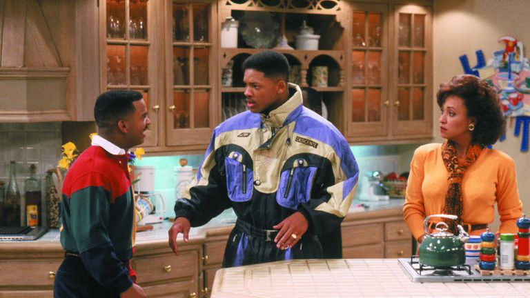 The Fresh Prince Of Bel Air - 1990-1996 Alfonso Ribeiro, Will Smith, Daphne Reid