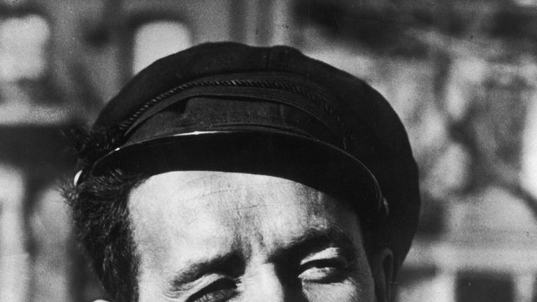 Woody Guthrie made his name in music while in New York City