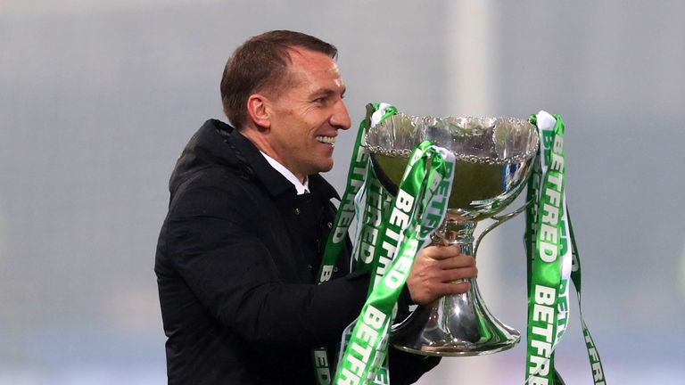 Celtic boss Brendan Rodgers in talks with Leicester to replace Claude Puel