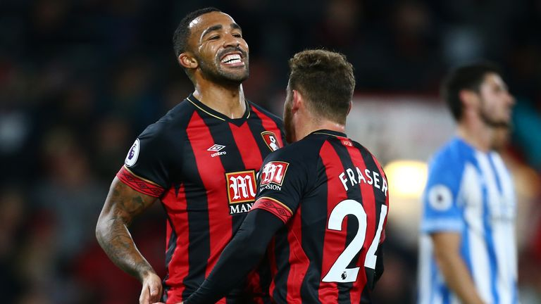 2:05                                            Highlights from Bournemouth's win over Huddersfield in the Premier League
