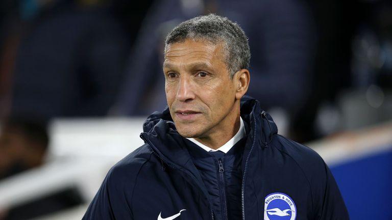 Brighton boss Hughton: We were worth victory over Everton