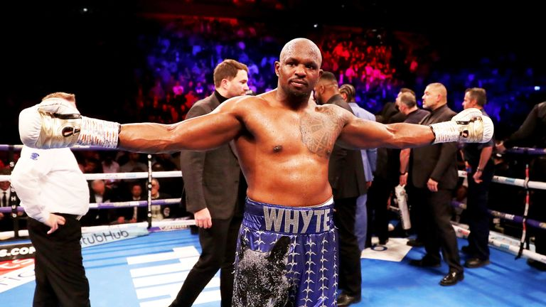 dillian whyte wants to face anthony joshua next boxing news sky