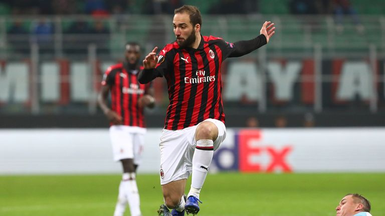 Chelsea hold talks with AC Milan and Juventus over Gonzalo Higuain move