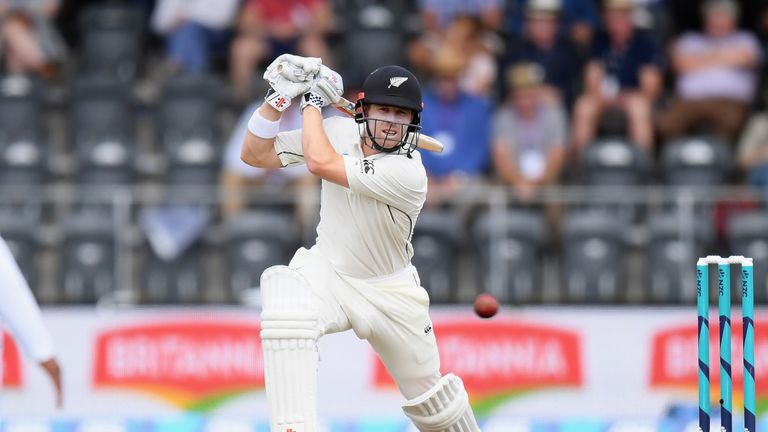 Tons from Latham, Nicholls give New Zealand colossal lead