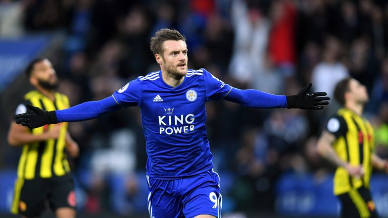 Leicester's Jamie Vardy a doubt for his Claudio Ranieri reunion