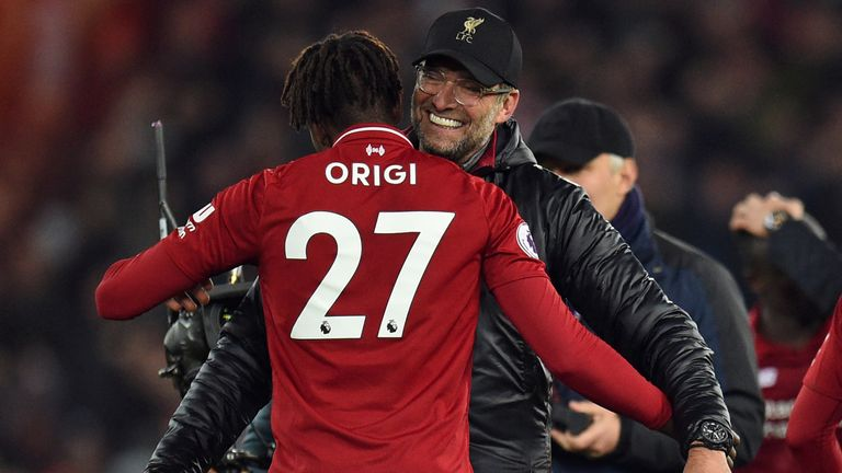 Confirmed Liverpool lineup vs. Burnley: Origi starts in much-changed Reds side