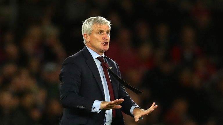 Mark Hughes sees plenty of positives in Southampton's draw with Manchester United | Football News |