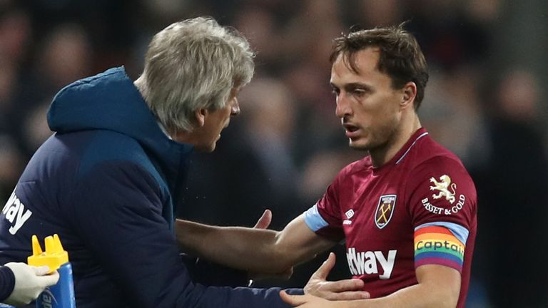 Mark Noble says Manuel Pellegrini's philosophy is taking effect at West Ham | Football News |