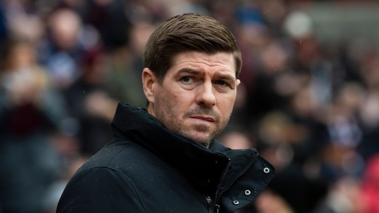 Gerrard insists Rangers have received no