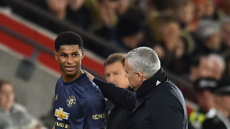 Jose Mourinho says Marcus Rashford was Manchester United's 'mad dog' at Southampton | Football News |
