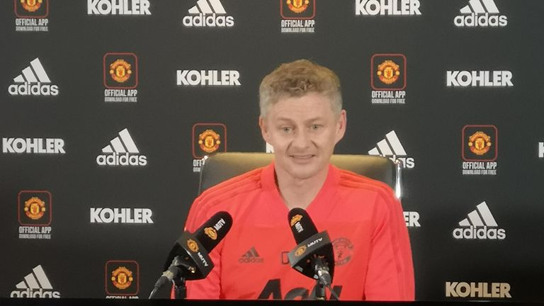 Ole Gunnar Solskjaer: I'd love to be Manchester United's next permanent manager