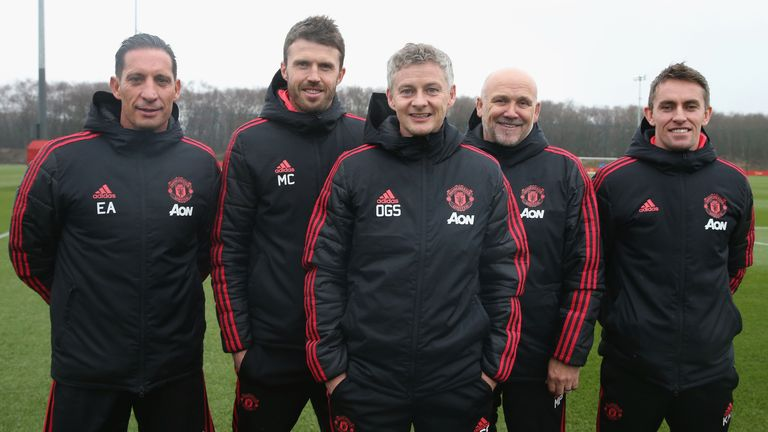 Solskjaer back 'home' at Manchester United