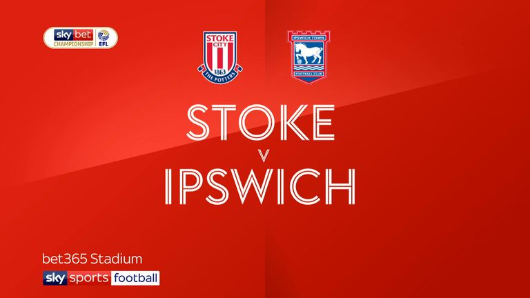 Stoke 2 - 0 Ipswich - Match Report & Highlights