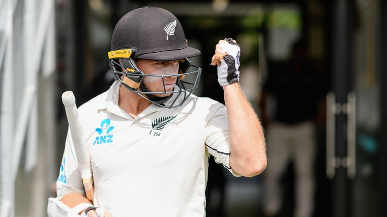 New Zealand dominated day two of the second Test as Trent Boult completed a five-for and Tom Latham hit 74 not out