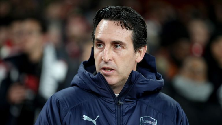 Arsenal manager Unai Emery says the club will be on the hunt for players who can improve their squad