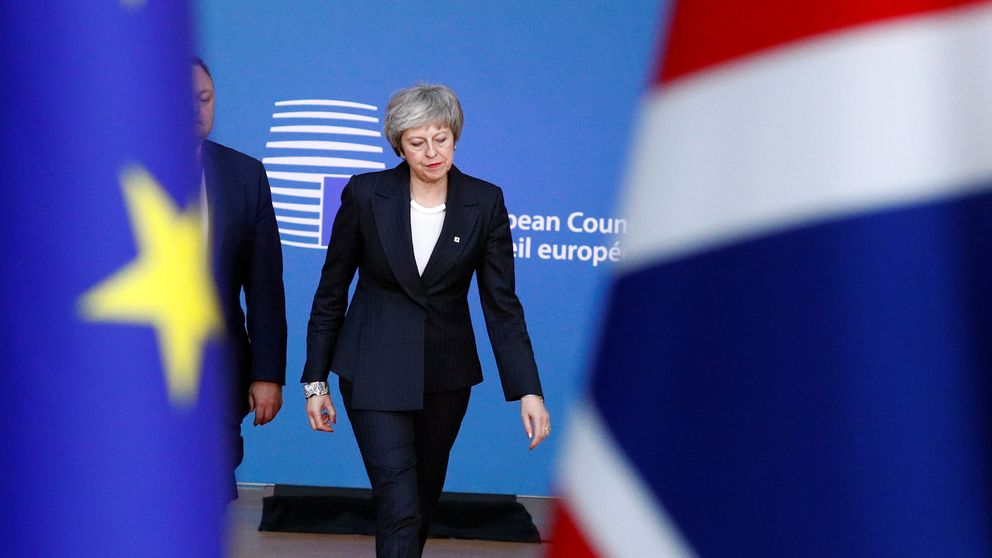 Theresa May Has Tense Exchange With EU Leader