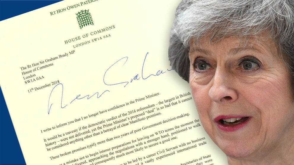 Theresa May says she stands 'ready to finish the job'