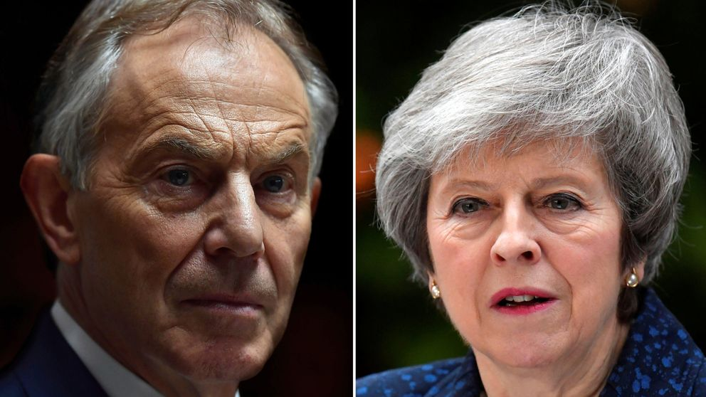 It has been another difficult week for Theresa May - but she has come out fighting with an attack on Tony Blair's 'insulting' behaviour